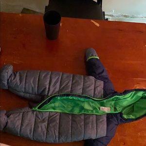 Carter's baby snow suit